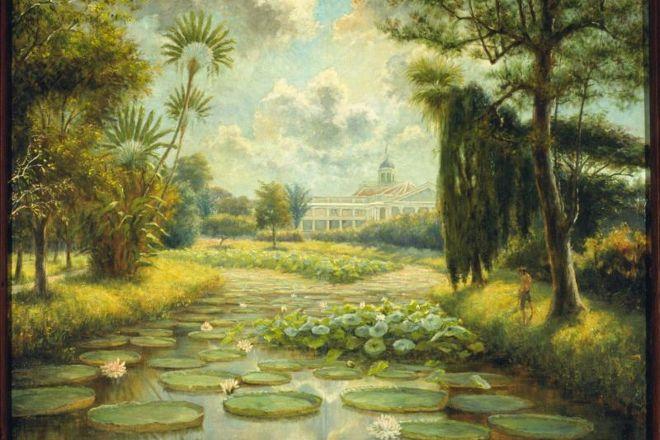Bogor Botanical Gardens, Bogor, Indonesia