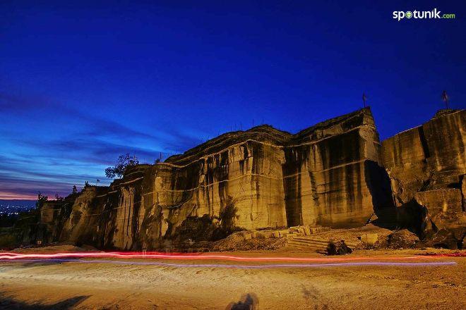 Breksi Cliff Park, Prambanan, Indonesia