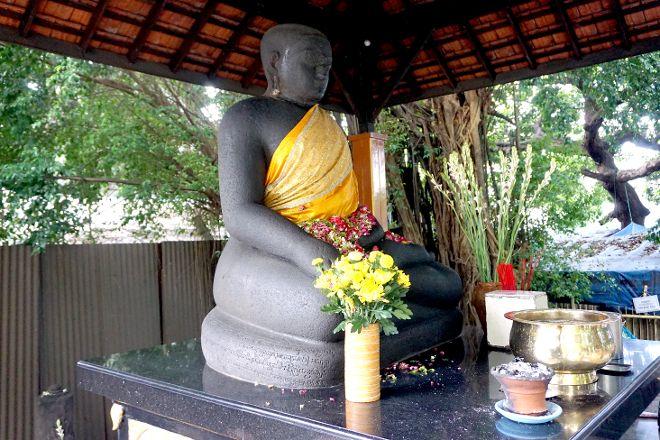 Joko Dolog  Buddhist  Statue, Surabaya, Indonesia