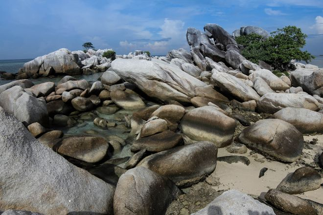 Lengkuas Beach, Belitung Island, Indonesia