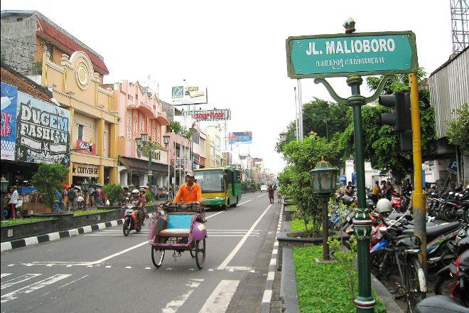 Malioboro Road, Yogyakarta Region, Indonesia