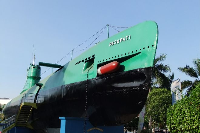 Monkasel (Submarine Monument), Surabaya, Indonesia