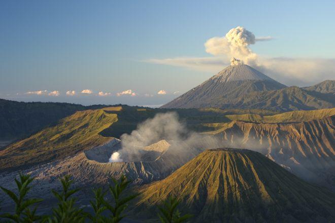 Mount Semeru Volcano, Malang, Indonesia