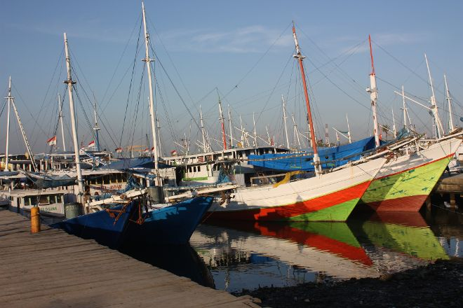 Paotere Harbor, Makassar, Indonesia