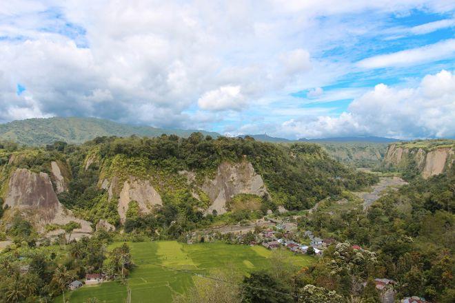 Sianok canyon, Bukittinggi, Indonesia