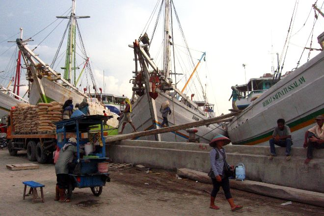 Sunda Kelapa Harbour, Jakarta, Indonesia