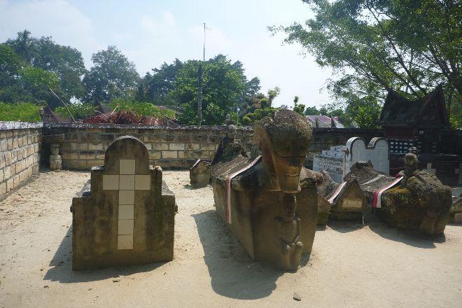 Tomb of the Sidabutar Kings, Samosir Island, Indonesia