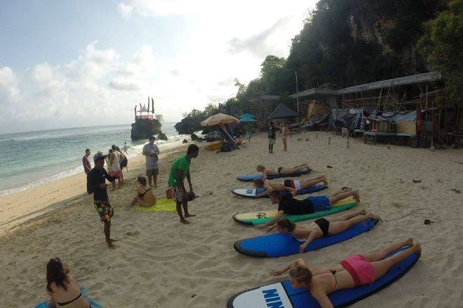 Yehbali Surf School, Pecatu, Indonesia
