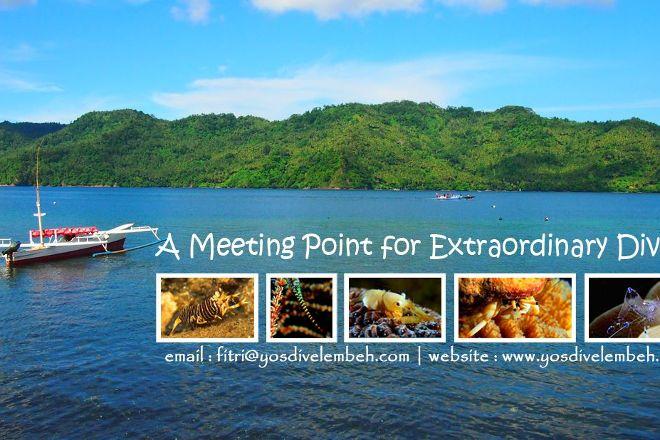 YOS Dive Lembeh-Eco Beach Resort, Bitung, Indonesia