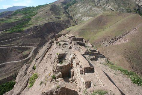 Alamut Castle, Mo'allem Kalayeh, Iran