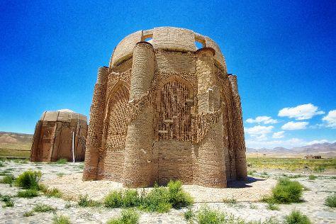 Kharraqan Towers, Qazvin Province, Iran