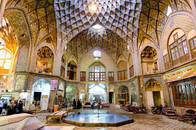 Bazaar of Kashan, Kashan, Iran