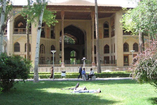 Hasht Behesht Palace, Isfahan, Iran