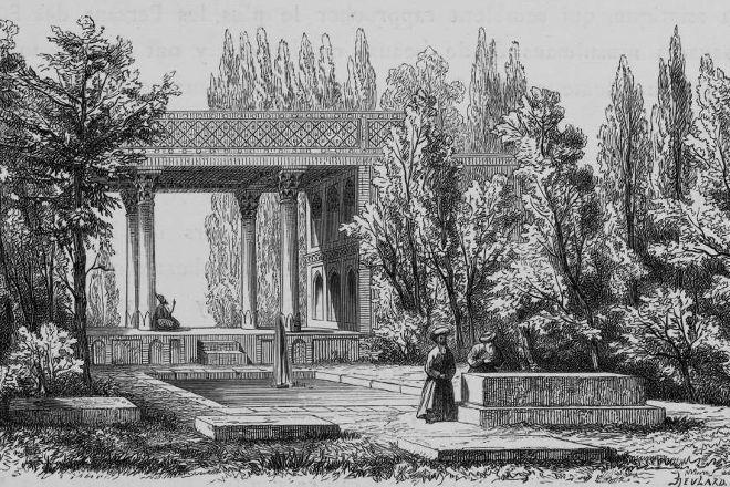 Tomb of Hafez, Shiraz, Iran
