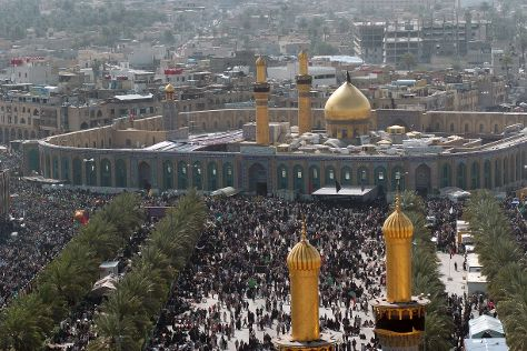 Imam Hussain's Shrine, Karbala, Iraq
