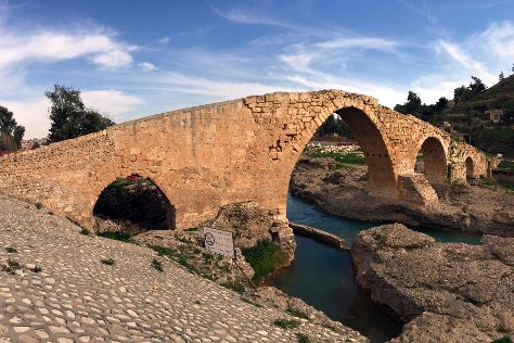 Zakho Bridge., Zakho, Iraq