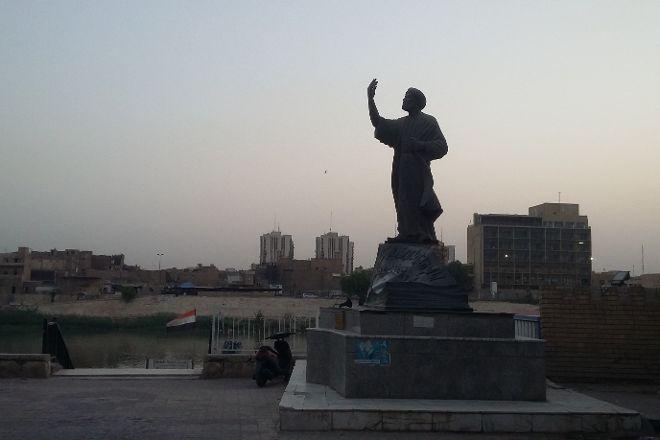 Al-Mutanabbi Statue, Baghdad, Iraq