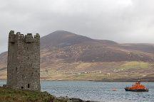 Kildavnet Castle, Achill Island, Ireland