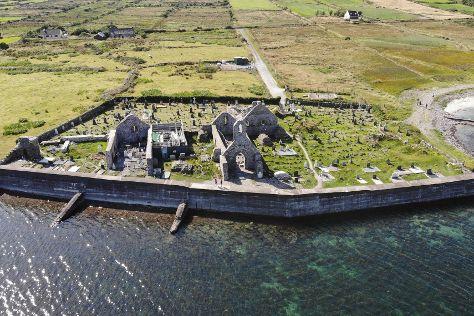 Ballinskelligs Abbey, Ballinskelligs, Ireland