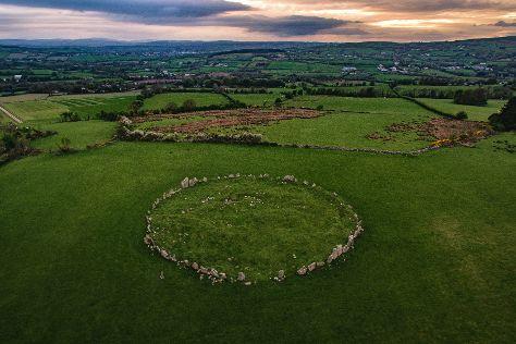 Beltany Stone Circle, Raphoe, Ireland
