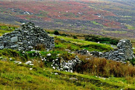 Deserted Village, Achill Island, Ireland