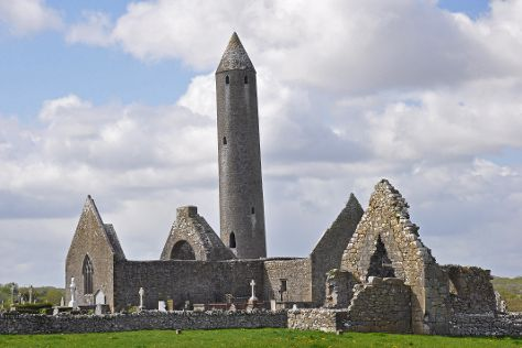 Kilmacduagh Tower, Gort, Ireland