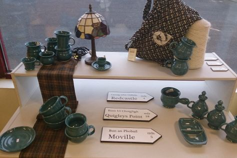 Moville Pottery, Moville, Ireland
