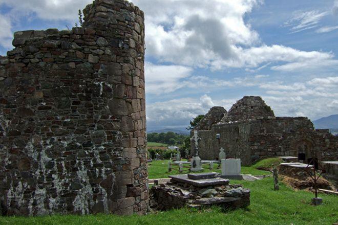 Aghadoe Church and Round Tower, Killarney, Ireland