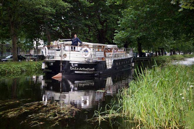 Canal Boat Restaurant, Dublin, Ireland