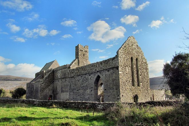 Corcomroe Abbey, County Clare, Ireland