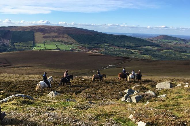 Hollywood Horse and Pony Trekking Centre, Wicklow, Ireland