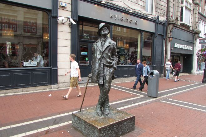 James Joyce Statue, Dublin, Ireland