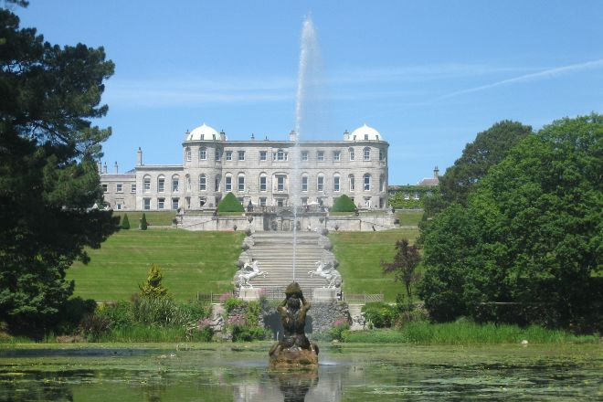 Powerscourt Gardens and House, Enniskerry, Ireland