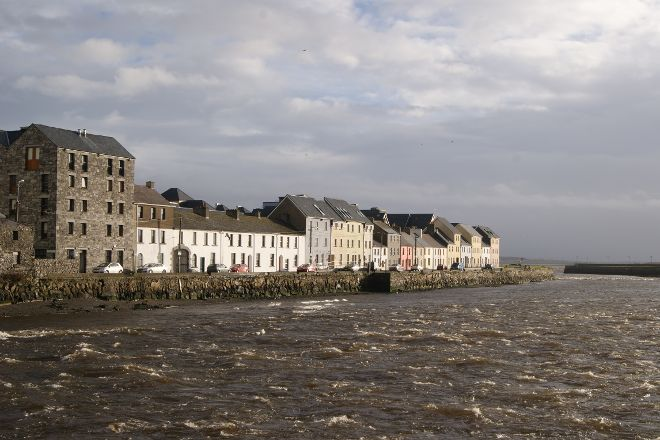 Riverside Walk, Galway, Ireland