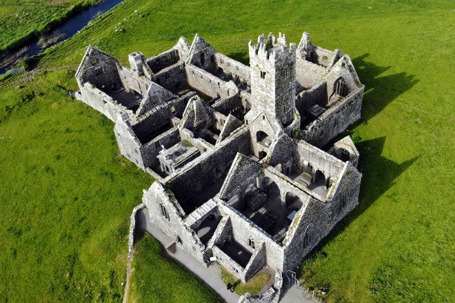 Ross Errily Friary, County Galway, Ireland