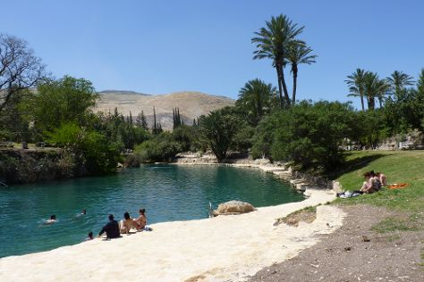Gan HaShlosha National Park, Beit She'an, Israel