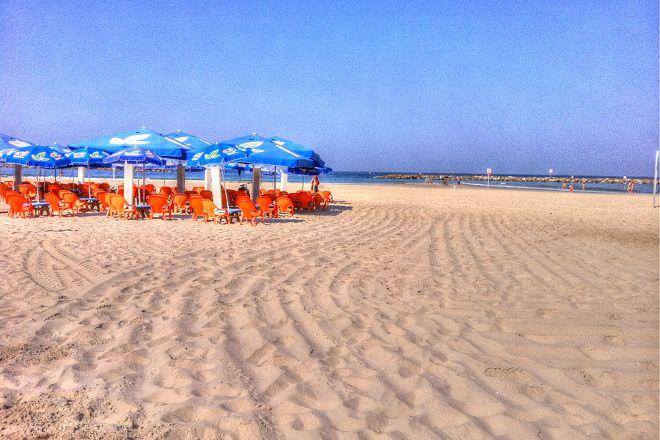 Banana Beach, Tel Aviv, Israel