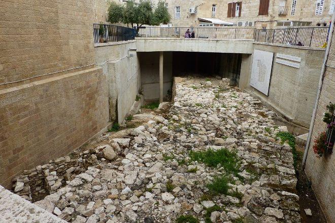 Broad Wall, Jerusalem, Israel