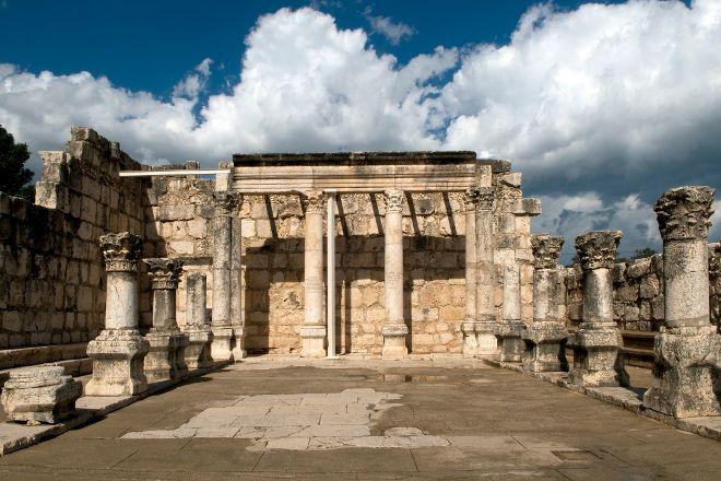 Capharnaum the Town of Jesus, Capernaum, Israel