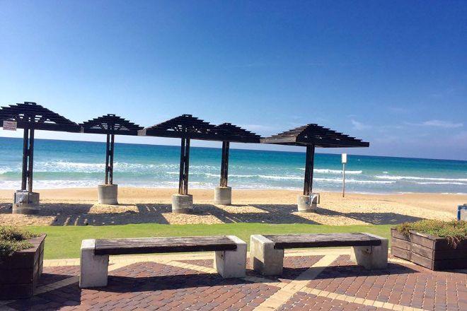 Dado Beach, Haifa, Israel