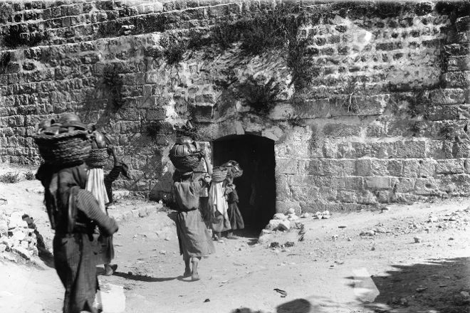 Dung Gate, Jerusalem, Israel