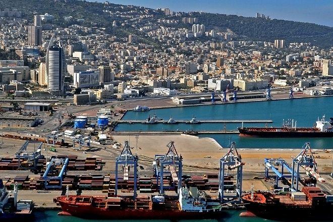 Haifa Port, Haifa, Israel
