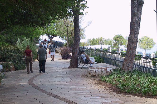 Louis Promenade, Haifa, Israel