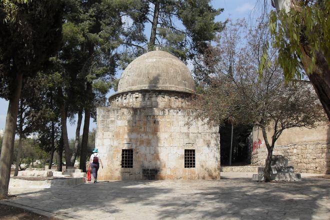 Mamilla Cemetery & Mamilla Pool Reservoir, Jerusalem, Israel