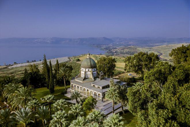 Mount of Beatitudes, Capernaum, Israel