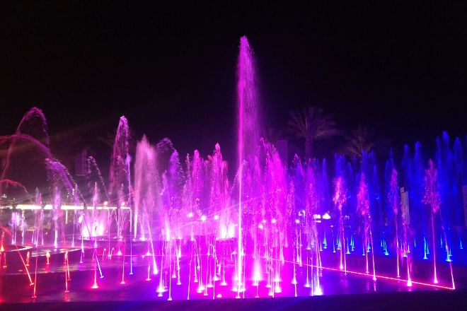 Musical Fountain, Eilat, Israel