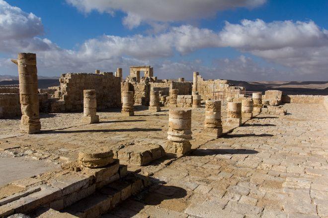 Nabatean Avdat Acropolis, Mitspe Ramon, Israel
