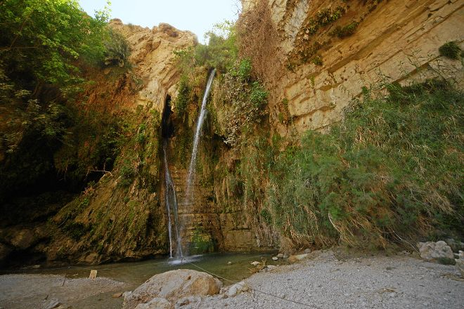 Nachal David Stream, Dead Sea Region, Israel