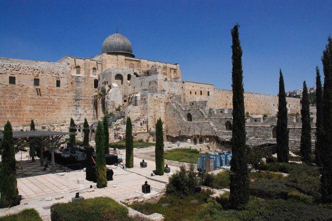 Ophel Archaeological Garden (Yitzhak Ben Youssef Levy Garden), Jerusalem, Israel
