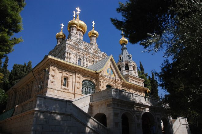 Orthodox Shrine of the Nativity of Mary, Jerusalem, Israel